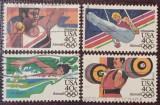 Statele Unite 1983 - J.O. Los Angeles, serie stampilata - posta aeriana 40c