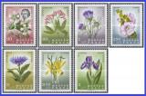 Ungaria 1967 - flori, serie neuzata