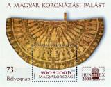 Ungaria 2000 - mantie de încoronare, colita neuzata