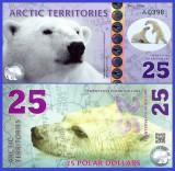 Antarctica 2017 - 25 dollars, necirculata