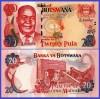 Botswana 2002 - 20 pula, necirculata