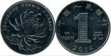China 2014 - 1 yuan, circulata