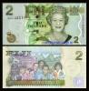 Fiji 2007 - 2 dollars, necirculata