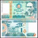 Peru 1988 - 10.000 intis, necirculata