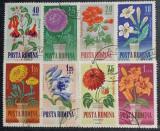 Romania 1964 - Flori de grădină, serie stampilata