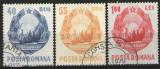 Romania 1967 - Stema României, serie stampilata