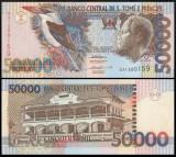 Sao Tome 1996 - 50.000 dobras, necirculata