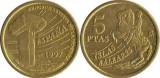 Spania 1997 - 5 pesetas, circulata