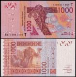 Togo 2003 - 1000 francs UNC
