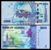 Uganda 2010 -  2000 shillings, necirculata