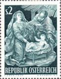 Austria 1963 - Craciun, neuzata