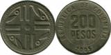 Columbia 2005 - 200 pesos, circulata