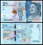 Columbia 2015 - 2000 pesos, necirculata