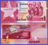 Ghana 2019 - 1 cedi, necirculata