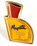 Insigna pin - Gabriela Sabatini MAGNETIC PERFUME BOTTLE