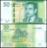 Maroc 2012 - 50 dirhams, necirculata