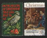 Statele Unite 1971 - Craciun, serie stampilata