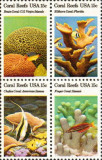 Statele Unite 1980 - Recif de corali, serie neuzata