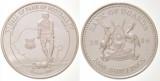 Uganda 2006 - 2000 shillings, proof-argintat, seria Arena Campionilor, Hagi