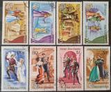 Ungaria 1967 - scene de opera, serie stampilata