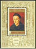 Ungaria 1971 - Albrecht Durer (1417-1528), colita neuzata