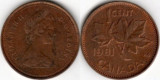 Canada 1981 - 1 cent, circulata