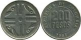 Columbia 2006 - 200 pesos, circulata