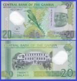 Gambia 2014 - 20 dalasis, necirculata