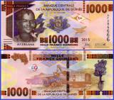 Guinea 2015 - 1000 francs, necirculata