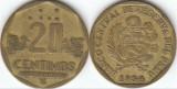 Peru 1994 - 20 céntimos, circulata