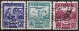 Romania 1955 - Palatul Pionierilor din Bucureşti, serie stampilata
