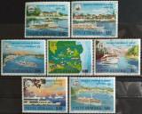 Romania 1977 - Navigaţia europeană pe Dunăre, serie stampilata