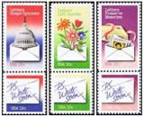 Statele Unite 1980 - Felicitari, serie neuzata