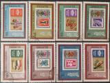 Ungaria 1973 - expo filatelic Polonia, serie stampilata