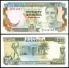 Zambia 1989 - 20 kwacha XF