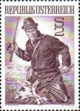 Austria 1971 - Pescuitul, neuzata