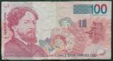 Belgia 1995 - 100 franci, circulata
