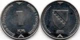 Bosnia Hercegovina 2000 - 1 marka, circulata