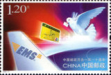 China 2006 - 110 ani oficiul postal, neuzata