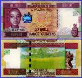 Guinea 2012 - 10.000 francs, necirculata