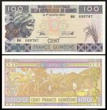 Guinea 2015 - 100 francs, necirculata