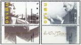 Israel 1986 - 50 de ani a Orchestrei Filarmonice din Israel, serie neuzata cu tabs