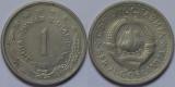 Iugoslavia 1980 - 1 dinar, circulata