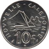Noua Caledonie 2001 - 10 francs UNC