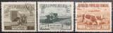 Romania 1953 - Agricultura socialistă, serie stampilata