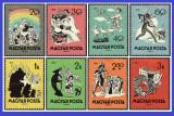 Ungaria 1959 - fabule, serie nestampilata