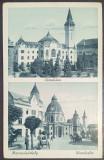 1941 - Targu Mures, Prefectura si Catedrala mica (jud. Mures)