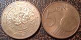 Austria 2012 - 5 eurocent, circulata