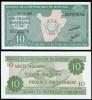 Burundi 2005 - 10 francs, necirculata