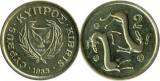 Cipru 1985 - 2 cent, circulata
